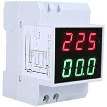 Andoer Voltímetro Digital Medidor de Voltaje LCD