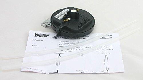Preisvergleich Produktbild Wolf Differenzdruckwaechter WOLF (alte Nr.8601919) Nr.2799155 279915599