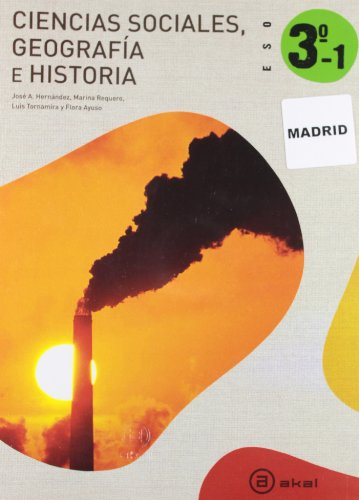 Ciencias Sociales 3º ESO - Madrid: Obra Completa (Trimestres) (Enseñanza secundaria) - 9788446027294