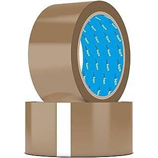 12 Rollen activaTape PP- Klebeband Paketband 48mm x 66lfm braun light