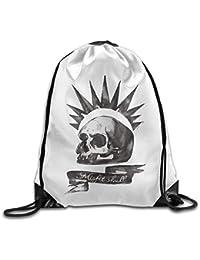 Unisex Life Is Strange Chloe Price Misfit Skull Sports Shoulder Drawstring Bag