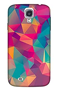 Generic Back Case Cover for Samsung Galaxy S4 (Multicolor)