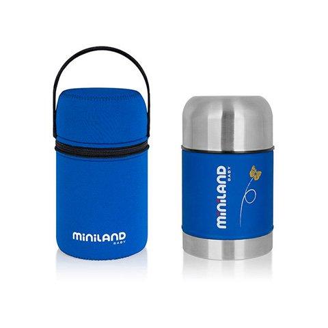 Miniland Food Thermo soft–Thermos per trasportare liquidi calde o freddi
