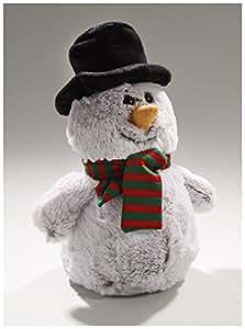 Peluche, Pupazzo di neve - Natale, 25 centimetri / di Carl Dick