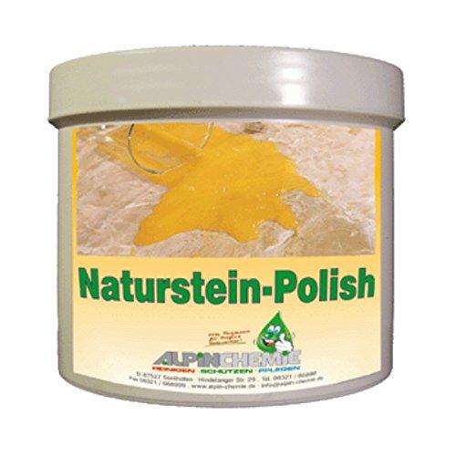 Alpin-Chemie - Natursteinpolish zur Pflege von Marmor, Naturstein und Betonwerkstein, 400 Gramm
