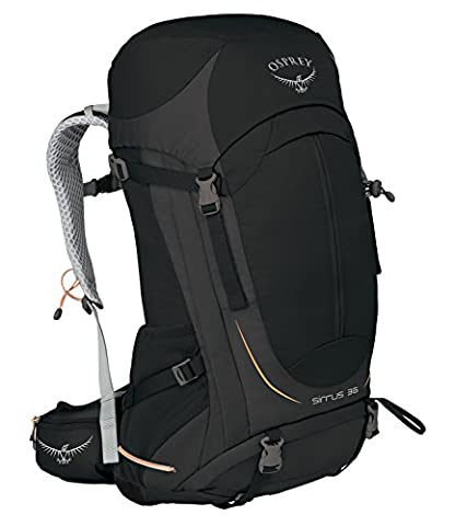 Osprey Sirrus 36 Womens Hiking Backpack One Size Black