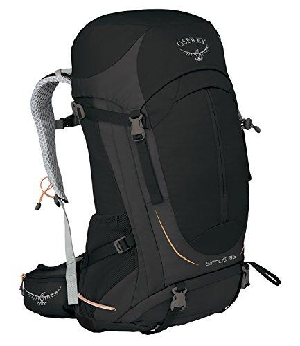Womens Koffer (Osprey Packungen Osprey Sirrus 36Rucksack, damen, schwarz)