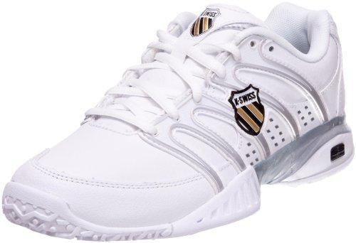 KSWISS Approach 2 Omni, Chaussures tennis femme Blanc / Noir / Argent