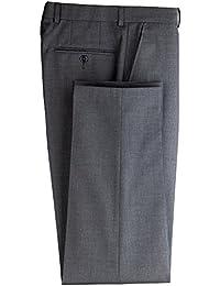 Traje Pantalones/Pantalón camarero gentleline, Flat frontal, antracita