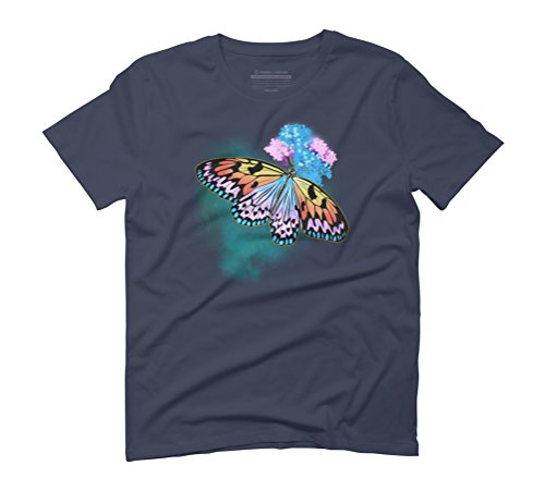 Natural Life Men's Graphic T-Shirt - Design By Humans Navy