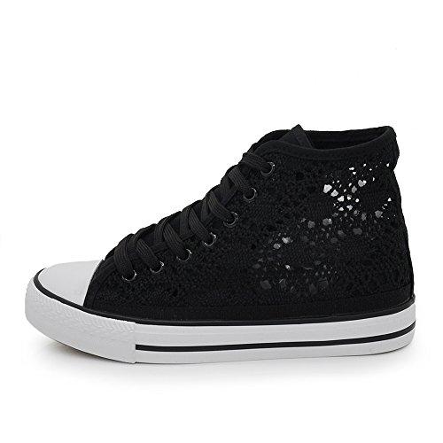 scarpe-da-donna-estive-traforate-ginnastica-sneackers-pizzo-merletto-85-191-nero-39