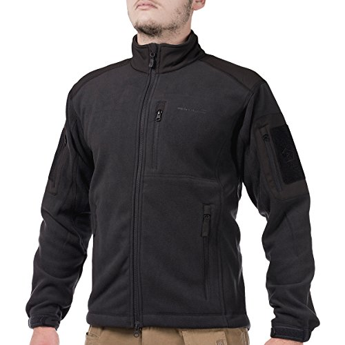 41qp E4QPTL. SS500  - Pentagon Men's Perseus Fleece Jacket 2.0 Black