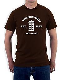 Inspired Doctor Time Travel Gallifrey Gift Idea Men's T-Shirt