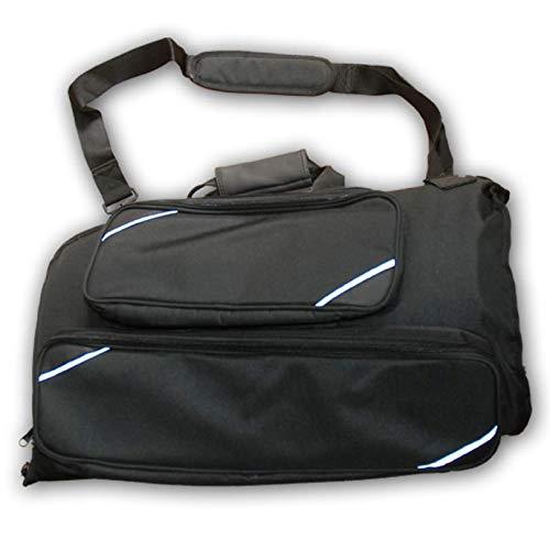 Gigbag für Flügelhorn (für Flügelhörner mit Dreh- und Pumpventilen gleichermaßen geeignet) Soundman Koffer Tasche Etui