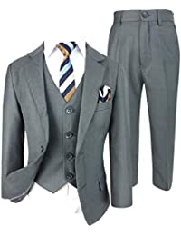95ea234b4848 Cocktail Italian Design All in One Boys Suits 5 or 6 Piece Formal Wedding  Complete Set