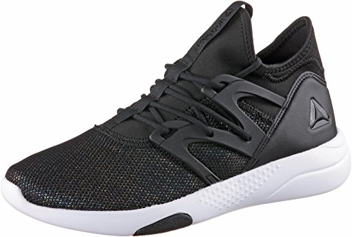 Reebok Damen Hayasu Ltd Multisport Indoor Schuhe, Schwarz (Black/Oil Slick/White/Vicious Violet), 42 EU (Frauen Cross-training Schuhe)