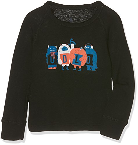 Odlo Kinder Shirt l/s Crew Neck WARM Trend Kids (SMA Ski-unterhemd, Black, 80 | 07613361004889