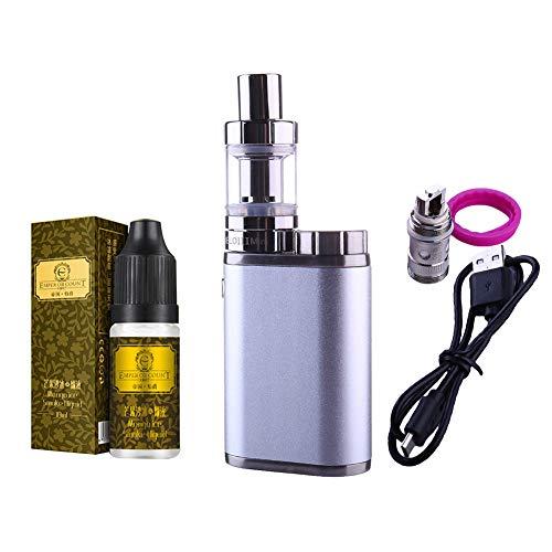 Yeleo Trosetry Cigarrillo Electronico, 10ml Liquido Vaper 75W TC BOX MOD 18650 Batería Reemplazable + Atomizador de Llenado Superior 2ml...