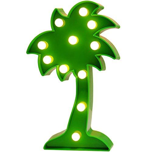LED-Lampe Licht Geburtstag Party Dekoration für Kinder Zimmer der Dekoration, Party, Geschenk Palm Tree ()
