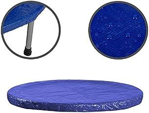 Anaterra Wetterschutzplane für Trampolin, Abdeckplane Regen Schnee, Regenabdeckung/Durchmesser 183 cm, 244 cm, 305 cm, 360 cm