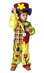 Idea Regalo - Boland- Cookie Clown Costume Bambino, Multicolore, 3-4 anni, 82256