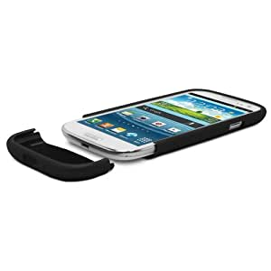 GreatShield iSlide Slim Fit Polycarbonate Hard Case for Samsung Galaxy S3 III i9300 - Black