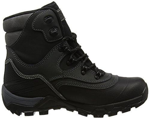 Hi-Tec Herren Trail Ox Winter 200 I Waterproof Trekking-& Wanderstiefel, Schwarz/Charcoal, 47 EU Schwarz (Black/Charcoal)