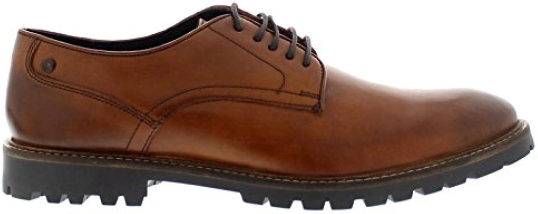 Base London Barrage Washed Tan Mens Shoes Size 11 UK