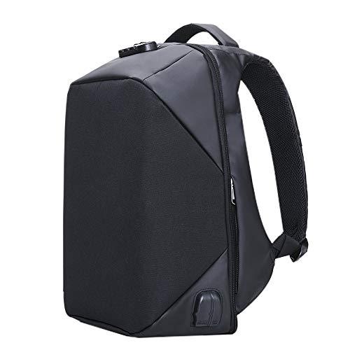 Kalidi Sac à Dos 17.3 Pouce Antivol Ordinateur Portable, Backpack 15.6 Pouces Sac Laptop USB Prise Audio Etanche Macbook Surface Pro Rucksack Camping Voyage Bureau Outdoor (Noir 17.3 Pouce)