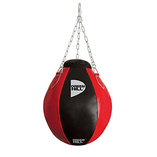 GREEN HILL Palla SOSPESA Sacco MONTANTI Boxe Wrecking Bag Ball Pelle
