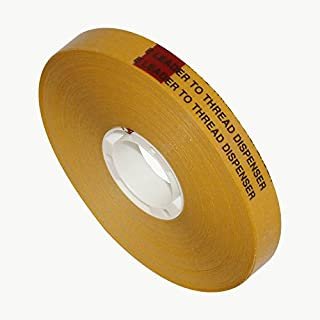 Scapa T002 ATG Tape: 1/2 in. x 36 yds. (Clear Adhesive on Yellow Liner)