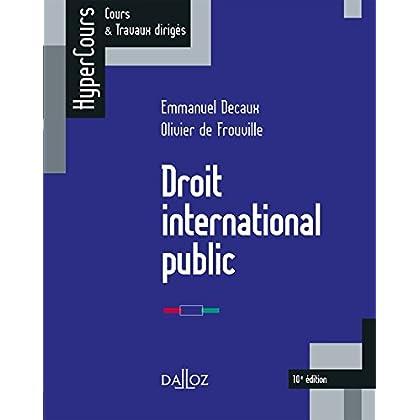 Droit international public - 10e éd.