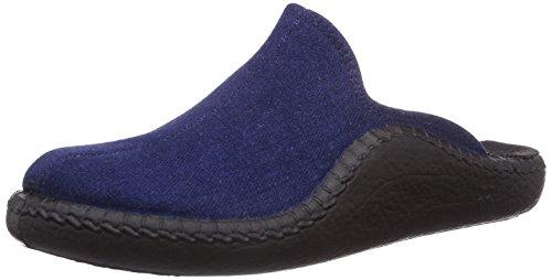 Mixte Mokasso Bleu Doublées Pantoufles Adulte Romika Non 500 110 4OIqxw0P
