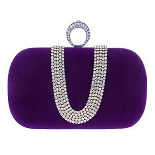 keller-womens-ring-button-velvet-rhinestone-stud-one-ring-knuckle-duster-evening-cocktail-clutch-bag
