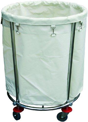 Wäschewagen Ø 60 cm mit auswechselbarem Wäschesack