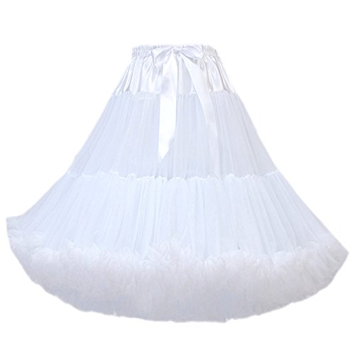 ostüm Ballett Tanz Multi-Layer Puffy Rock Erwachsene luxuriöse weiche Petticoat ()