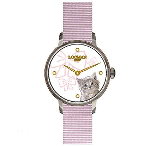 Reloj Solo Tiempo niño Locman 1960 clásico cód. F253A08S-00WHGA1NP