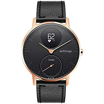 Withings / Nokia Steel HR Hybrid - Reloj, Unisex Adulto, Oro Rosa (Rose