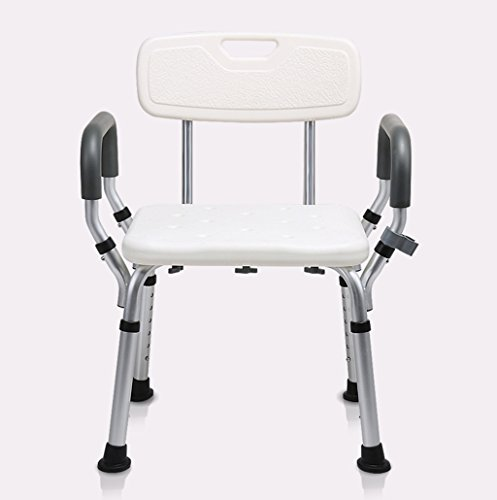 PIGE Bad Stuhl, Old Man Skid-resistent Schwangere Frau leicht Falten Bad Bad Stuhl, Behinderte Person Komfort Stuhl Dusche (größe : 68 * 41cm) -