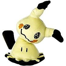 Pokemon t19326–Tomy Pokémon Peluche mimigma (mimikyu) |hochwertiges de peluche para jugar y coleccionar. 20cm a partir de 3jahre|kuscheltier|p okémon Peluche–Ideal como regalo, varios colores