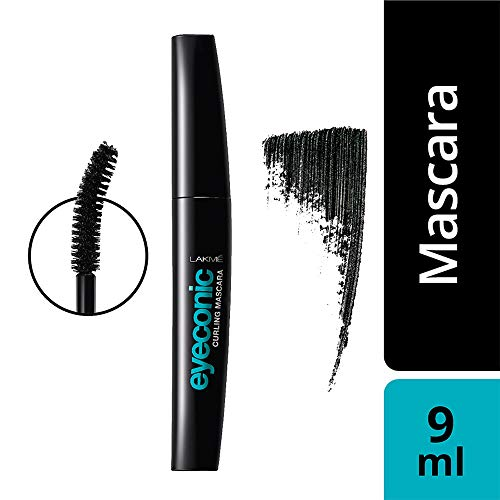 Lakme Eyeconic Lash Curling Mascara, Black, 9ml