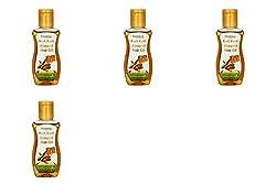 Patanjali Kesh Kanti Almond Hair Oil - 50 ml (Pack of 4)