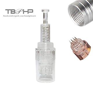 36 Nadelpatrone für Auto Electric Microneedle Derma Pen, Einstellbar Gewinde-Schlitz Für Auto Electric Derma Stempel(10 Stück Needle Cartridge)