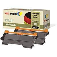 Pack 2 TONER EXPERTE® Compatibles TN2220 TN2010 Cartouches de Toner pour Brother DCP-7055, DCP-7055W, DCP-7057, DCP-7060D, DCP-7065DN, DCP-7070DW, HL-2130, HL-2132, HL-2135W, HL-2240, HL-2240D, HL-2250DN, HL-2270DW, MFC-7360N, MFC-7460DN, MFC-7460N, MFC-7860DW, FAX-2840, FAX-2845, FAX-2940E