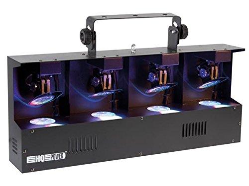 SCANNER LED QUATRO - RGBW 4-EN-1 - PILOTAGE DMX