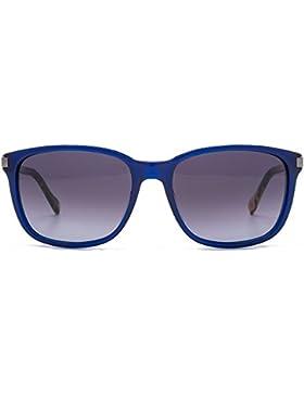 BOSS Orange Wayfarer Style Sonnenbrille in Havanna Green BO 0179/S KB6 55