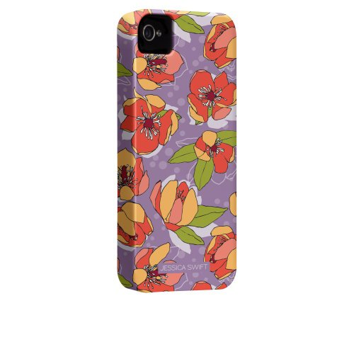 Case-Mate Jessica Swift Designer Schutzhülle für Apple iPhone 4/4S – parent ASIN Banana Magnolia