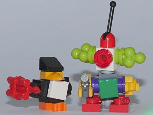 LEGO Super Heroes: Minfiguren Penguin Henchman und Clown Robot mit Zubehör aus dem Set 76035 NEU (The Dark Knight Lego Set)
