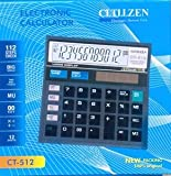 VEDANT Citllzen CT -512 12 Digits Display Big Display Calculator for personal / Office use