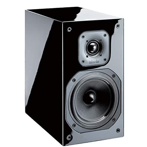 Indiana Line Diva 252-Paar Lautsprecher 2Wege, Leistung 100W-Schwarz lackiert -
